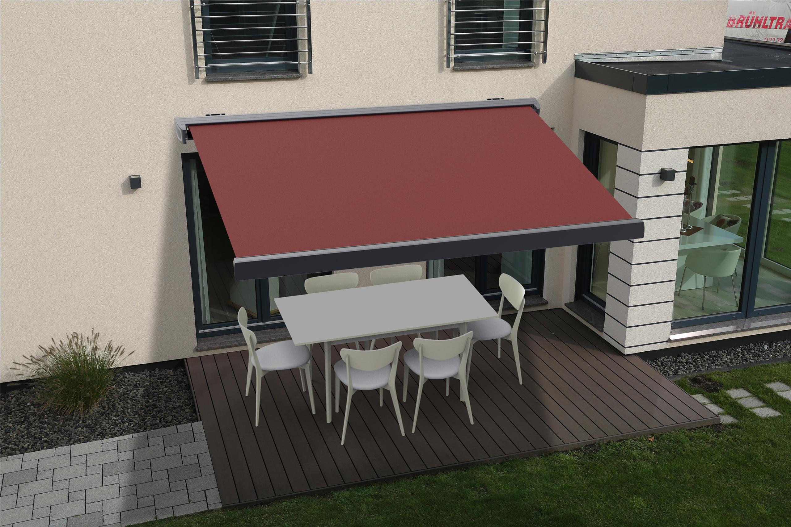 markise vollkassettenmarkise terrasse sp1310em elektrisch funkmotor 3 5 2m ebay. Black Bedroom Furniture Sets. Home Design Ideas
