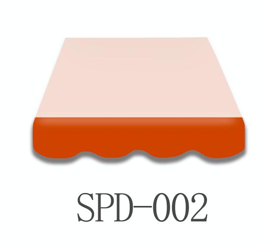 5 Meter Markisenbespannung nur Volant SPD-002