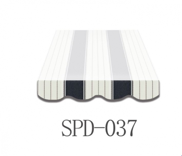 5 Meter Markisenbespannung nur Volant SPD-037