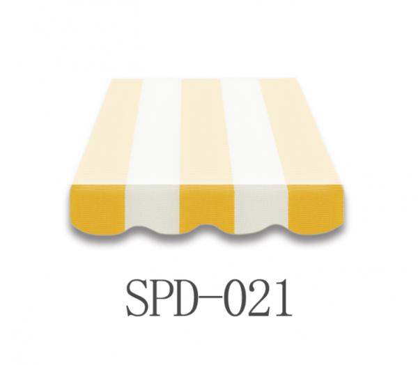 5,5 Meter Markisenbespannung nur Volant SPD-021