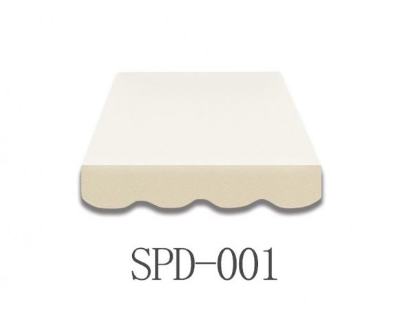 6 Meter Markisenbespannung nur Volant SPD-001