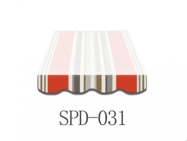 4,5 Meter MArkisenbespanung nur Volant SPD-031