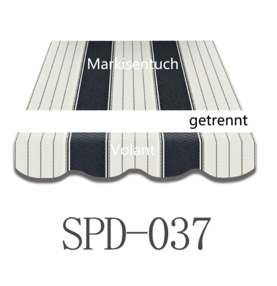 4 x 3m Markisentuch SPD037