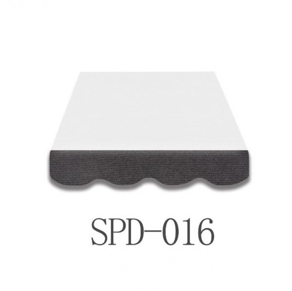 6 Meter Markisenbespannung nur Volant SPD-016