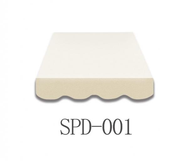 3,5 Meter Markisenbespannung nur Volant SPD-001