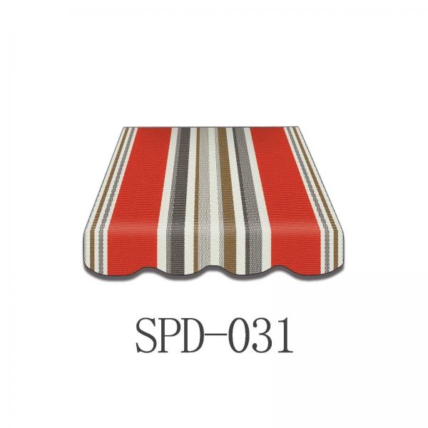 3,5x2m Stabile Aluminium Markise Halbkassetten Stofftaustauschbar SP1201