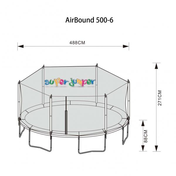 Trampolin AirBound 488-6