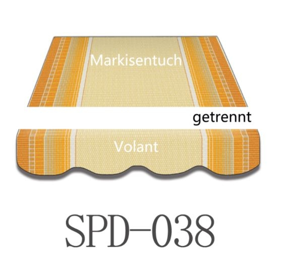 3 x 2,5m Markisentuch SPD038