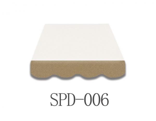 3 Meter Markisenbespannung nur Volant SPD-006