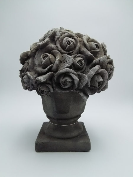 Blumen (B/T/H) 28,5 x 28,5 x 36 cm