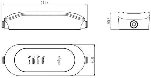 Chilye Tragbares Ladekabel EU Standard Ladebox 16A Ladegerät, Typ2, IEC 62196-2 Elektroauto,5 m langes Kabel Schuko 2-polig