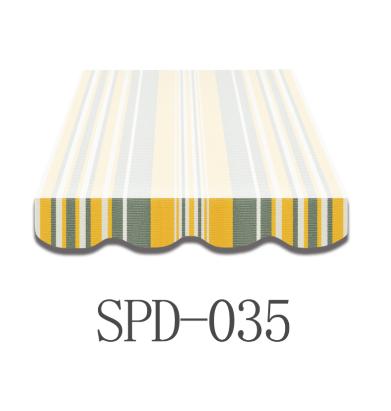 3,5 Meter Markisenbespannung nur Volant SPD-035