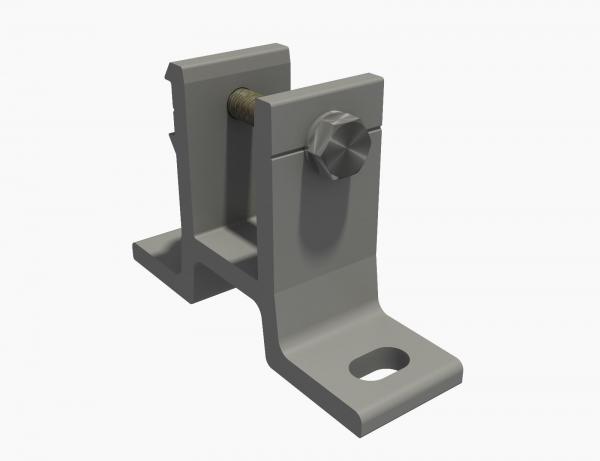 Wandhalterung für Markise 35mm SPP058 Grau