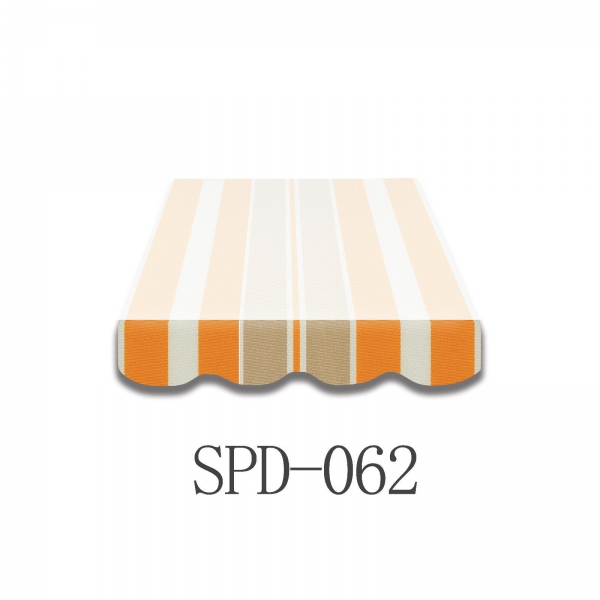 3 Meter Markisenbespannung nur Volant SPD-062