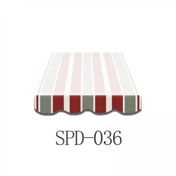 4 Meter Markisenbespannung NUR VOLANT SPD036