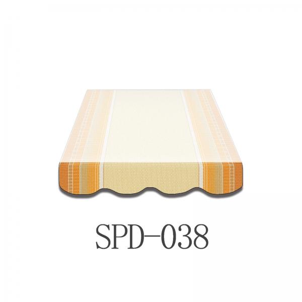 4 Meter Markisenbespannung nur Volant SPD-038