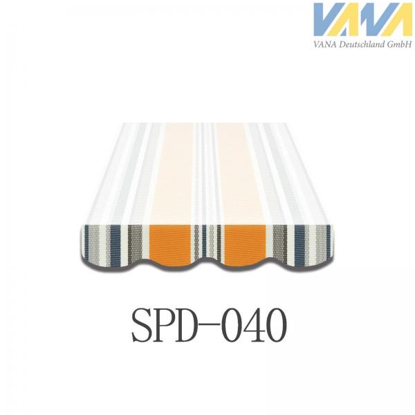 4 Meter Markisenbespannung nur Volant SPD-040