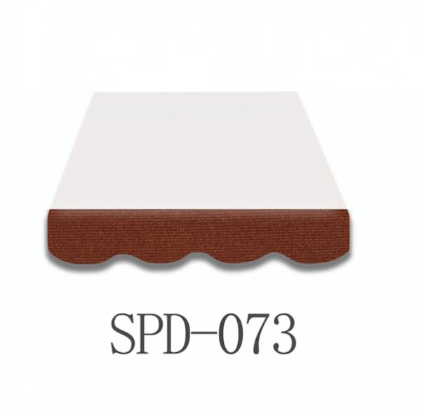 4 Meter Markisenbespannung nur Volant SPD-073