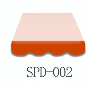 6 Meter Markisenbespannung nur Volant SPD-002