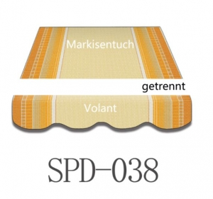 4 x 2,5 Markisentuch SPD038