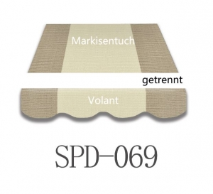 3,5 x 3m Markisentuch SPD069