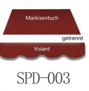 3,5 x 3m Markisentuch SPD003
