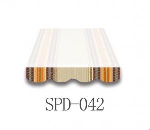 4 Meter Markisenbespannung nur Volant SPD-042