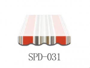 5 Meter Markisenbespannung nur Volant SPD-031
