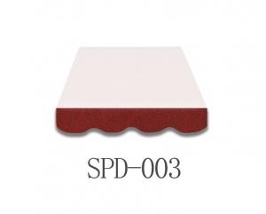 5 Meter Markisenbespannung nur Volant SPD-003