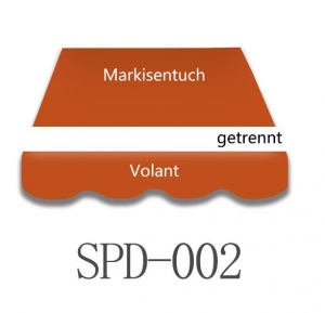 4 x 3m Markisentuch SPD002