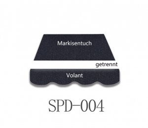 4 x 3m Markisentuch SPD004