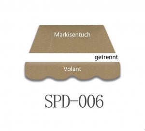 4 x 3m Markisentuch SPD006