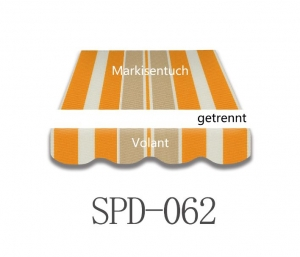 4 x 3m Markisentuch SPD062