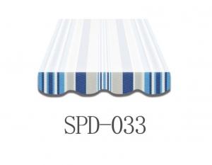 4 Meter Markisenbespannung nur Volant SPD-033