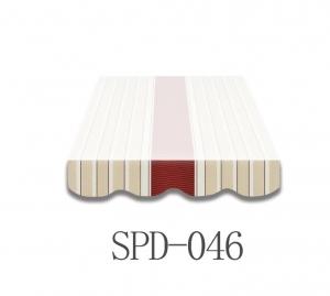 3 Meter Markisenbespannung nur Volant SPD-046