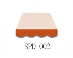 4 Meter Markisenbespannung nur Volant SPD-002