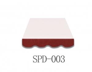 4 Meter Markisenbespannung nur Volant SPD-003