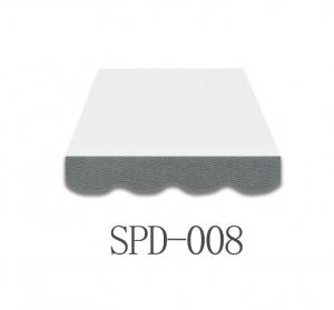 4 Meter Markisenbespannung nur Volant SPD-008