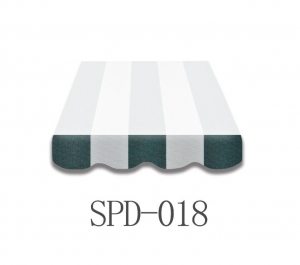 5 Meter Markisenbespannung nur Volant SPD-018