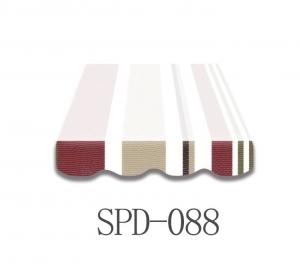 5,5 Meter Markisenbespannung nur Volant SPD-088