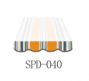 6 Meter Markisenbespannung nur Volant SPD-040