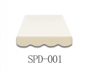 4,5 Meter Markisenbespanung nur Volant SPD-001