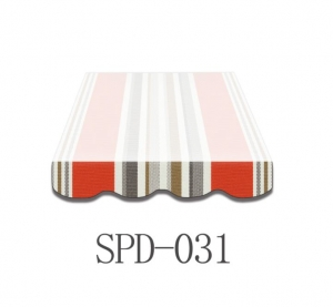3,5 Meter Markisenbespannung nur Volant SPD-031