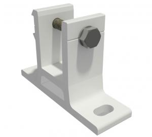 Wandhalterung für Markise 40mm SPP058 Weiss