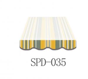 4,5 Meter Markisenbespanung nur Volant SPD-035