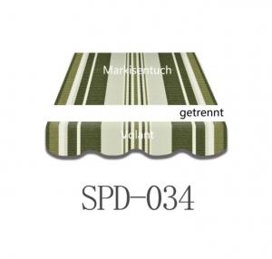 4,5 x 3m Markisentuch SPD034
