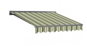 3,5x2m Stabile Aluminium Markise Halbkassetten Stofftaustauschbar SP1201 SPD034