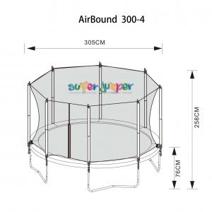 Trampolin AirBound 305-4