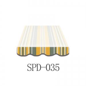 3 Meter Markisenbespannung nur Volant SPD-035