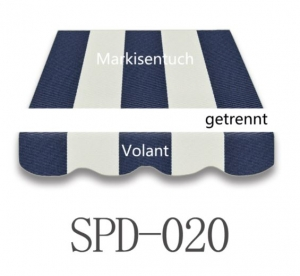 3,5 x 2,5 m Markisentuch SPD020